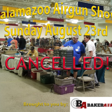 2020 Kalamazoon Airgun Show August 23 CANCELLED