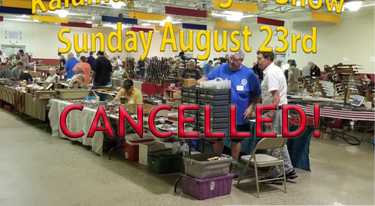 2020 Kalamazoon Airgun Show August 23 CANCELLED